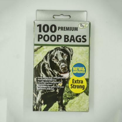 025364003554: Tidy Z 100 Premium Dog Poo Bags