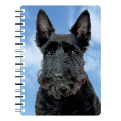 030717115785 3D Notebook Scottish Terrier 1