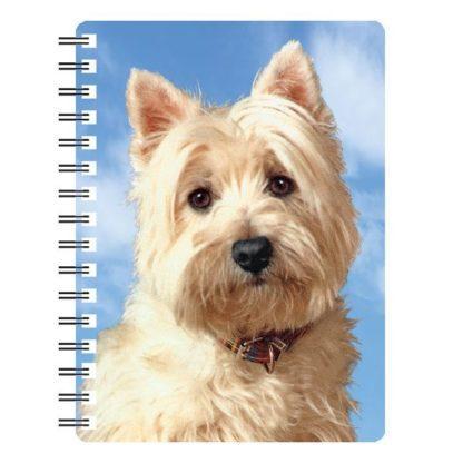 030717115815 3D Notebook West Highland White Terrier