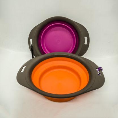 Pet Touch Medium Portable Bowl.