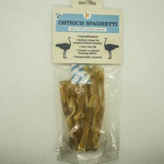 604565018229 JR 100% Healthy Ostrich Spaghetti