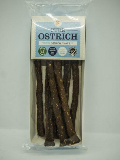 604565018120 JR 100% Healthy Pure Ostrich Meat Sticks
