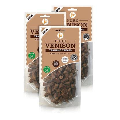 634158676123 JR 100% Healthy Pure Venison Training Treats