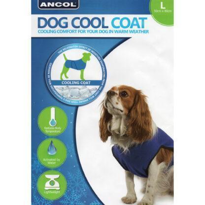016646097941 Ancol Dog Cool Coat L