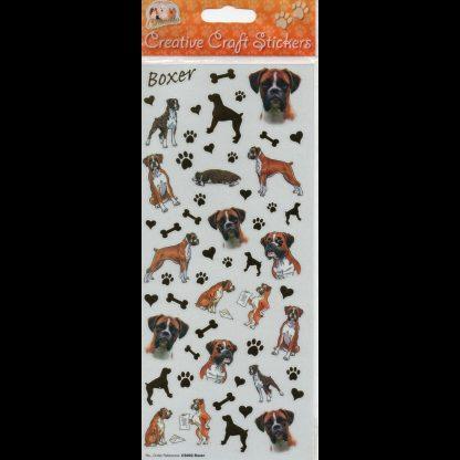 Boxer Creative Craft Stickers