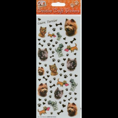 Cairn Terrier Creative Craft Stickers