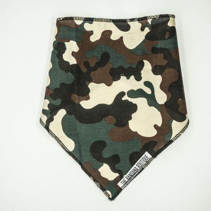 Camouflage Khaki Small Bandana
