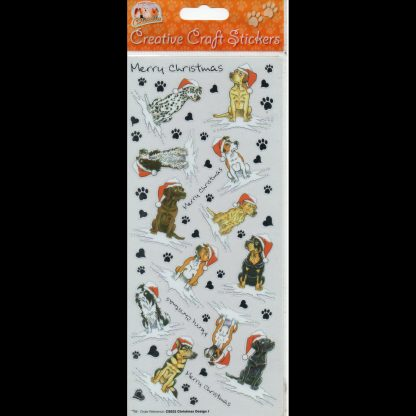 Christmas Design 1 Creative Craft Stickers