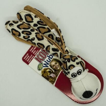 3558580087 Kong Wubba Floppy Ears Small Leopard