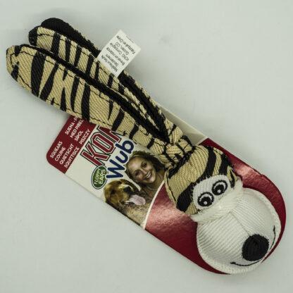 3558580087 Kong Wubba Floppy Ears Small - Tiger