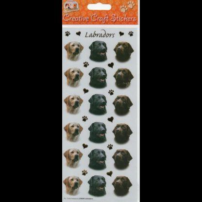 Labradors Creative Craft Stickers