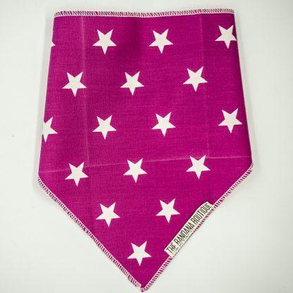 Stars on Pink Small Bandana