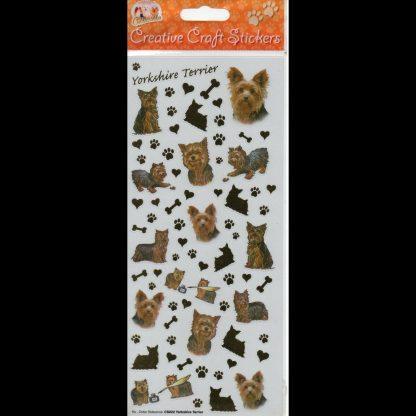 Yorkshire Terrier Creative Craft Stickers