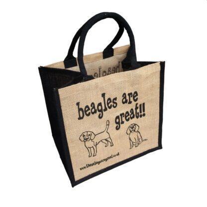 Beagles are Great Jute Bag