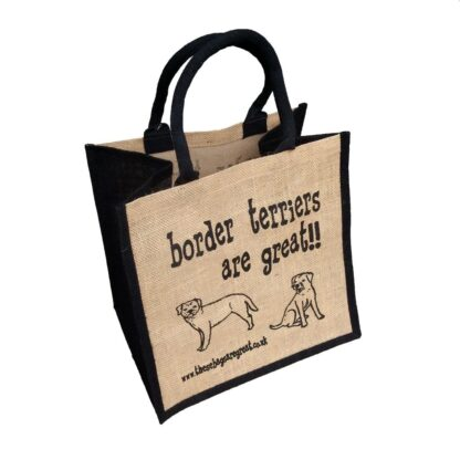Border Terriers are Great Jute Bag