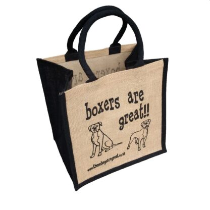 Boxers are Great Jute Bag