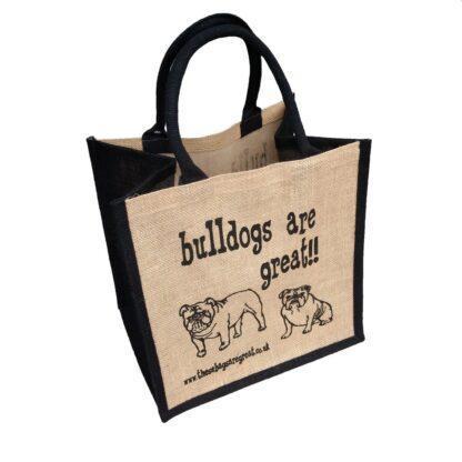 Bulldogs are Great Jute Bag