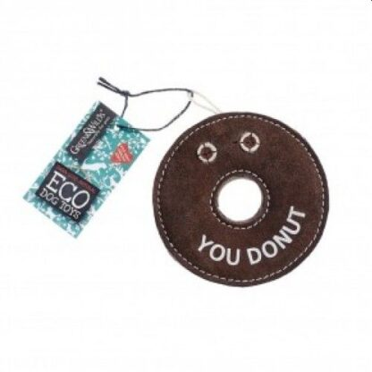 610696121080 Derrick the Donut Eco Dog Toy