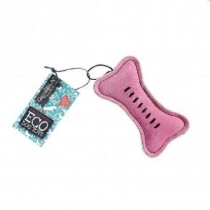 703625145445 Pinkie Bone Eco Dog Toy