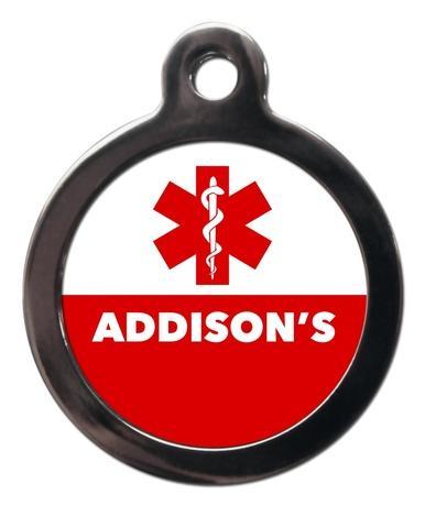 Addison's ME56 Medic Alert Dog ID Tag