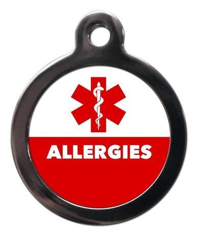 Allergies ME57 Medic Alert Dog ID Tag