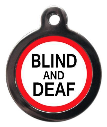 Blind and Deaf ME41 Medic Alert Dog ID Tag