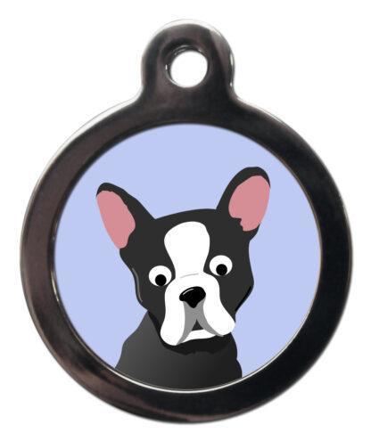 Boston Terrier BR31 Dog Breed ID Tag
