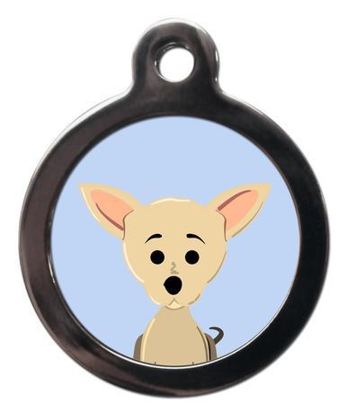 Chihuahua BR4 Dog Breed ID Tag