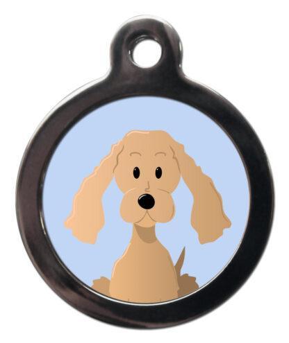 Cocker Spaniel BR18 Dog Breed ID Tag