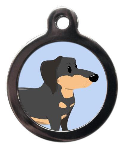 Dachshund BR19 Dog Breed ID Tag