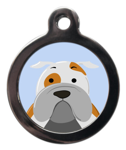 English Bulldog BR6 Dog Breed ID Tag