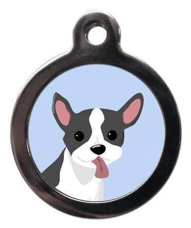 French Bulldog BR20 Dog Breed ID Tag