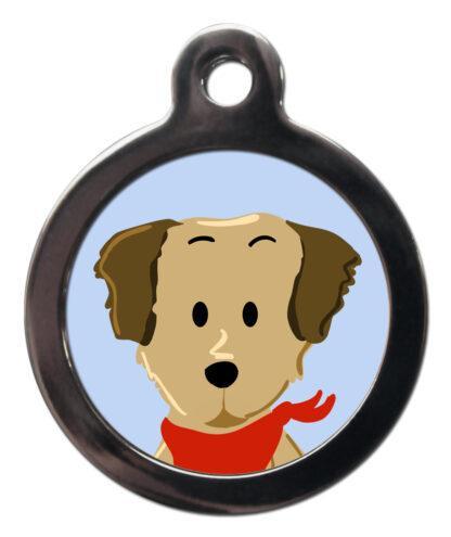 Golden Retriever BR7 Dog Breed ID Tag