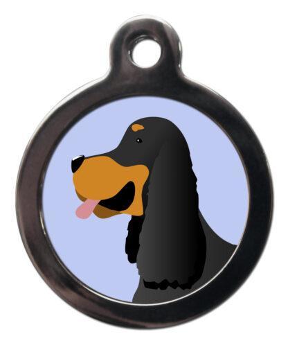 Gordon Setter BR34 Dog Breed ID Tag
