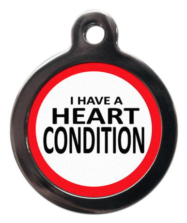 Heart Condition ME13 Medic Alert Dog ID Tag