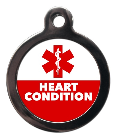 Heart Condition ME63 Medic Alert Dog ID Tag