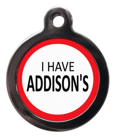 Addison's ME34 Medic Alert Dog ID Tag