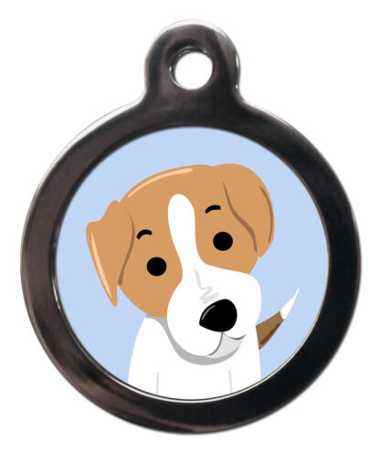 Jack Russell BR10 Dog Breed ID Tag