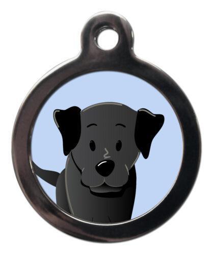 Labrador Black BR32 Dog Breed ID Tag