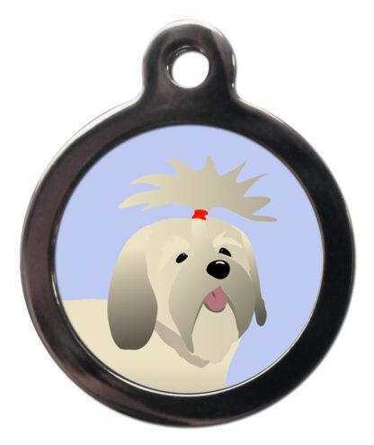 Lhasa Apso BR30 Dog Breed ID Tag
