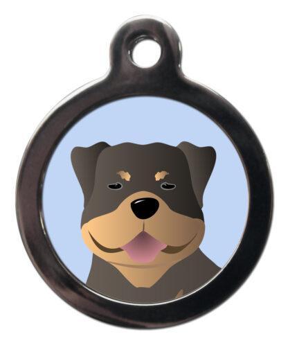 Rottweiler BR26 Dog Breed ID Tag