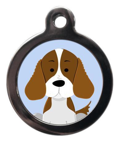 Springer Spaniel BR12 Dog Breed ID Tag