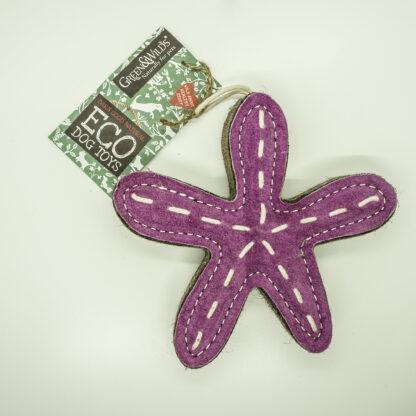 610696121073 Stanley the Starfish Eco Dog Toy