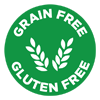 Health Benefits: Grain Free & Gluten Free.