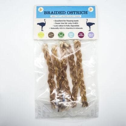 604565018212 JR 100% Healthy Braided Ostrich Twist Pk5
