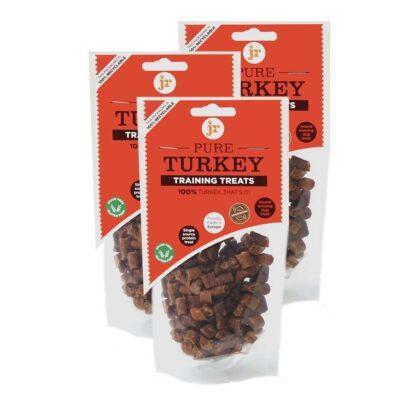 634158951381 JR 100% Healthy Pure Turkey Training Treats