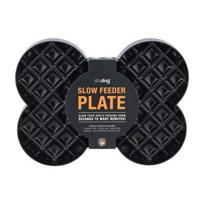 SloDog SLow Feeder Plate Black