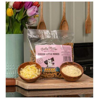 Betty Miller Cheese Little Bones 400g Biscuit Treats