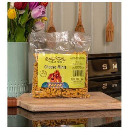 Betty Miller Cheese Mini Bones 500g Biscuit Treats