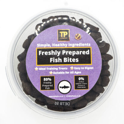 TP Feeds Freshly Prepared Fish Bites 100g